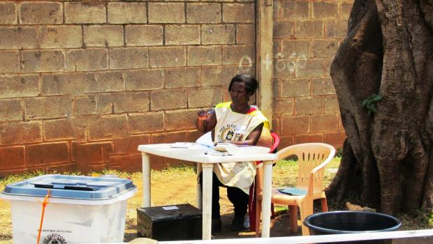 Presiding Officer in-charge of a polling station